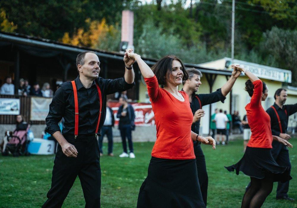 Vystoupení tanečního oddílu