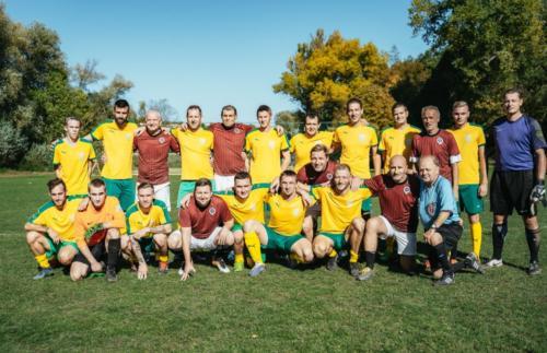 TJ Sokol Statenice - stará garda AC Sparta Praha